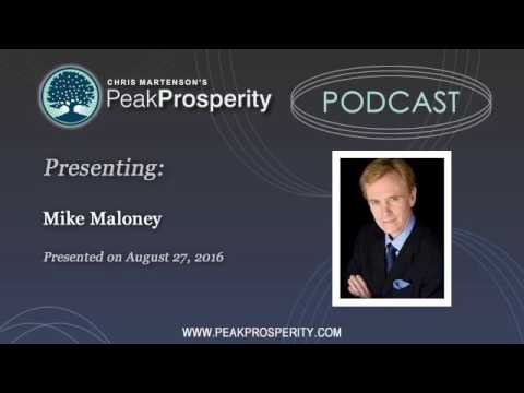 Mike Maloney: This Is The Peak