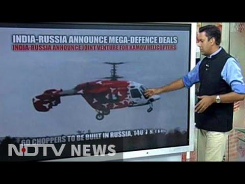 India-Russia Announce Mega Defence Deals