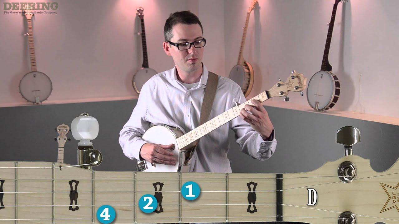 Beginning 5 string banjo pt 6 the d chord youtube beginning 5 string banjo pt 6 the d chord hexwebz Images