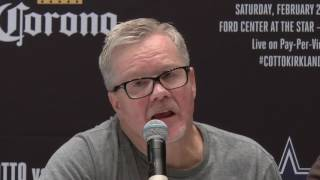 Freddie Roach: I thought Miguel Cotto won the first Canelo fight (Video: Roc Nation Sports)