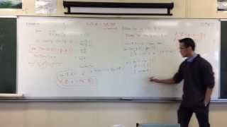 Inverse Tan Identity Question (3 of 3): Combining Terms & Graphing