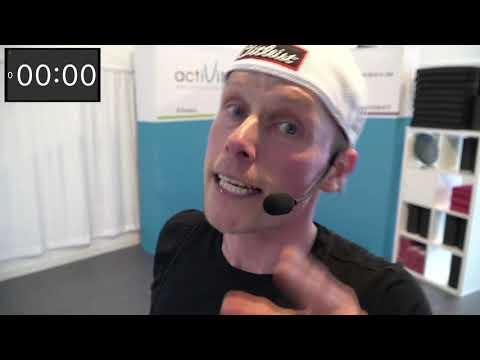 actiLiveStream #132 - Total Body + Bauch mit Torben (Mo. 19.04.21)