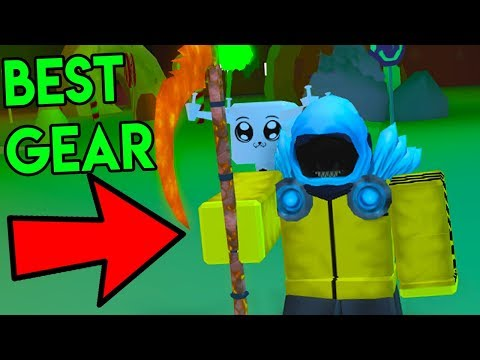 ROBLOX MINING SIMULATOR *STRONGEST GEAR IN THE GAME!*