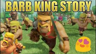 😱Barberian king😱 story||in hindi|| clash of clans||coc||story of barberian king