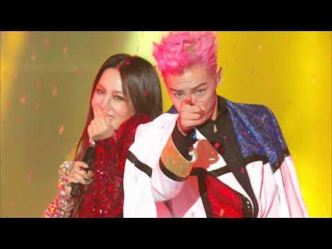Uhm Jung Hwa & TOP, Collab Stage DISCO @2016 SAF Gayo Daejun EP02