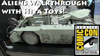 Hiya Toys Aliens APC and Figure Walkthrough at San Diego Comic Con 2016