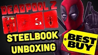Deadpool 2 4K Ultra HD Blu-ray SteelBook UNBOXING & GIVEAWAY | Best Buy Exclusive