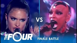 Download lagu Sharaya J vs Whitney Reign Rap Artist TAKES ON The R B Star Finale The Four