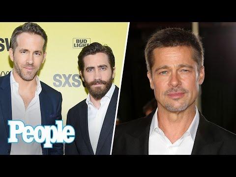 Inside Brad Pitt's Life Post Split, Ryan Reynolds & Jake Gyllenhaal Bromance | People NOW | People