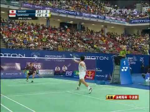 R32 - MS - Sasaki Sho vs Viktor Axelsen - 2014 Badminton Japan Open from YouTube · Duration:  1 hour 9 minutes 36 seconds