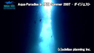 伊豆2007夏ダイビング★ダイジェスト【パパラギダイビングスクール】