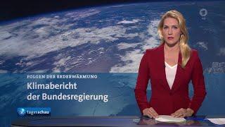 Themen der sendung: bundesregierung legt bericht zum klimawandel in deutschland vor, tausende landwirte protestieren berlin mit traktoren gegen agrarpolit...