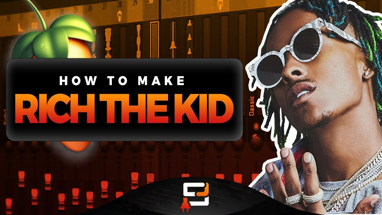 How To Make A Rich The Kid Type Beat On FL Studio | Making A Bouncy 2018 Beat With Hard 808s
