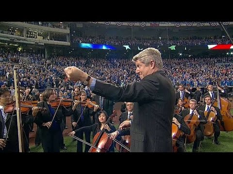 WS2014 Gm6: KC Symphony Orchestra performs anthem