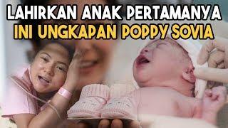 Berjenis Kelamin Perempuan, Poppy Sovia Banjir Ucapan Selamat Lahirkan Anak Pertamanya