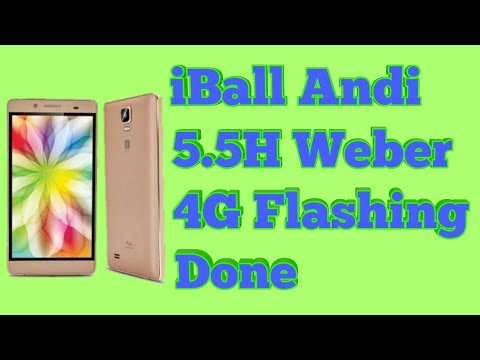 How To Flash IBall Andi.5.5H.Weber.4G