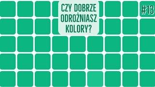 Jeden z kwadratów jest INNEGO KOLORU [TEST WZROKU] #dobreinternetowe