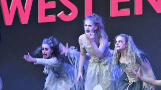 West End LIVE 2018 - West End Kids perform tribute to Broadway musical The Addams Family
