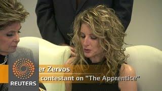 Defamation lawsuit filed on behalf of Trump accuser