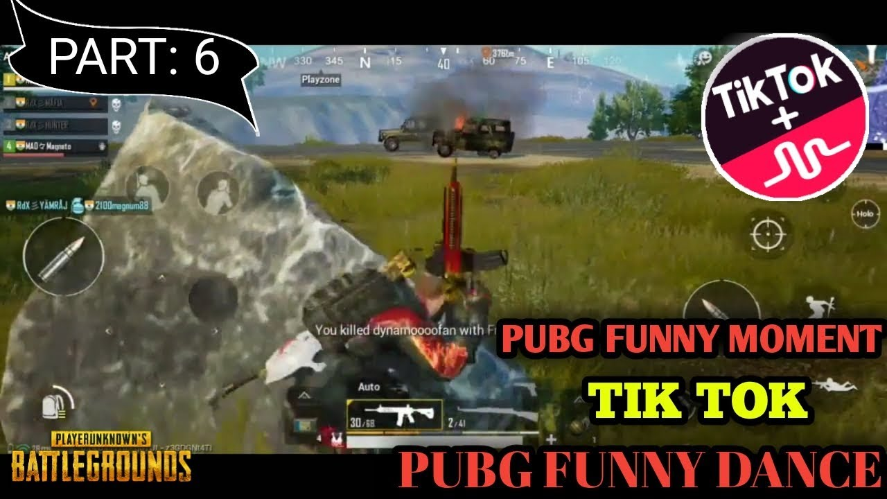 Download PUBG TIK TOK FUNNY MOMENTS AND FUNNY DANCE PART: 6 || XYZ CREATION