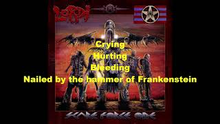 Lordi -  Nailed By The Hammer Of Frankenstein Lyrics