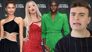 PEOPLE'S CHOICE AWARDS 2019 FASHION ROAST (the people have certainly made choices)