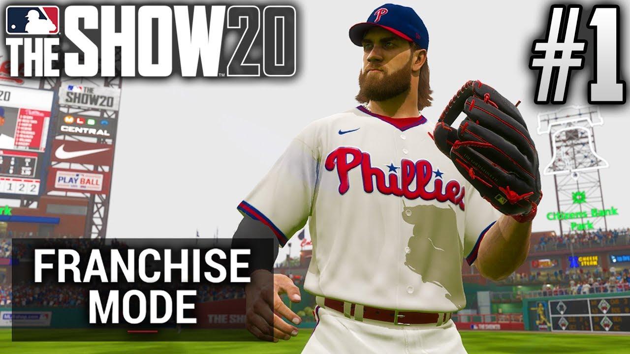 MLB The Show 20 Franchise Mode | Philadelphia Phillies | EP1 | RING THE BELL (S1)