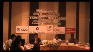 Aid Coordination Perspective from the Mekong Subregion (Part 3)