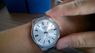 Casio Standard MTP-V005D-7A - the low budget Stainless Steel Watch
