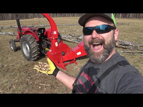 PTO Wood Chipper Put To The Test! Pole Saws, Chainsaws And More!