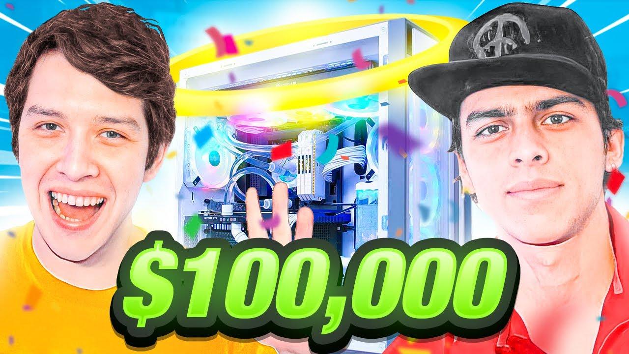 MEJORES Gaming Setup Tours HISPANOS DE TNA *$100,000* (SoyPan, PapiBlast, Lonche Y MÁS)