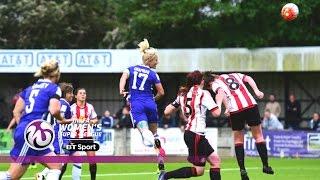 Chelsea Ladies 2-1 Sunderland Ladies | Goals & Highlights