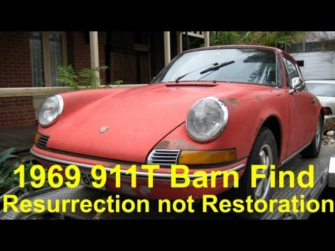 1969 Porsche 911T - Resurrection Not Restoration - Part 1