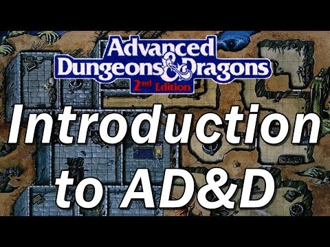 Advanced Dungeons and Dragons (2nd Edition) | Roleplaying Game Review | AD&D Episode 1