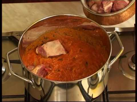 Cuisine Indienne Agneau En Sauce Youtube