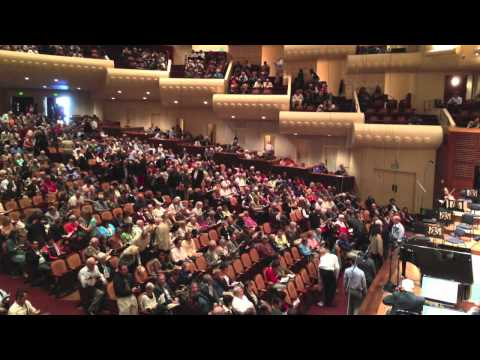 My Afternoon at the San Francisco Symphony, Davies Hall