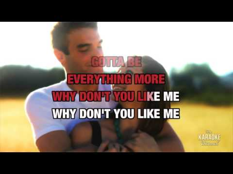 Grace Kelly in the style of Mika | Karaoke with Lyrics