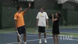 Видеоуроки большого тенниса от Новака Джоковича