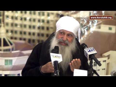 Baba Iqbal Singh Ji during Akal University   Guru Ki Kashi Educational Seminar   Hicksville NY