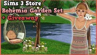 Sims 3 Store : Bohemia Garden Set + Giveaway!
