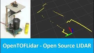 OpenTOFLidar - Open Source DIY TOF LIDAR