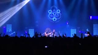 coheed and cambria three evils live in riverside 9 5 14