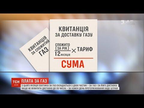 ТСН: Українці будуть отримувати дві платіжки за газ