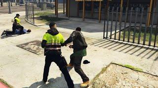 GTA 5 LSPDFR 警察模組 194 襲警ing