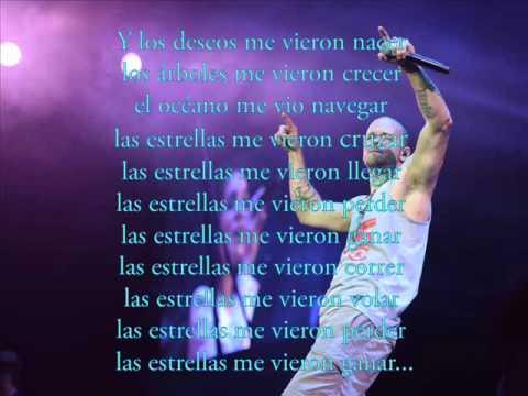 Me Vieron Cruzar Con Letra Calle13