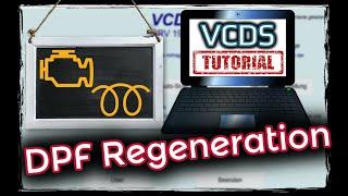 VCDS: DPF Regeneration, Dieselpartikelfilter regenerieren, Regeneration anstoßen