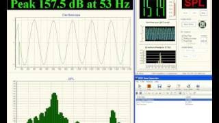 SPL-LAB Software: USB BASS METER VS TERM-LAB 30-80Hz