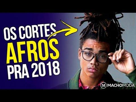 ✂️ Cortes de Cabelo Masculino AFRO para 2018 – 5 Tendências em Corte Crespo Masculino ✂️ Video