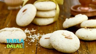 Nankhatai (Diwali Special biscuit) /How to Make Eggless Indian Cookie Recipe by Tarla Dalal