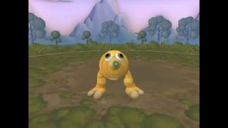 Q bert In Spore MADE BY ME [NO MODS]